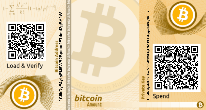 Bitcoin Paper Address