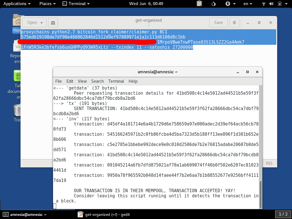 How To Run The bitcoin_fork_claimer Script From A Secure