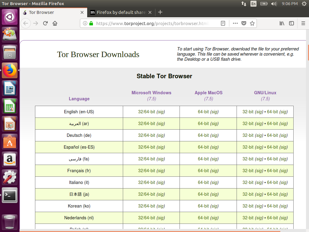 How To Install And Run Tor Browser In An Ubuntu 16 04
